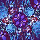 webs of flowers by LoreLeft27