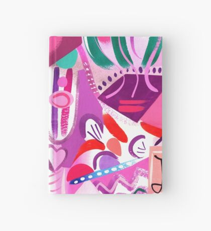 Pink Interior lll Hardcover Journal