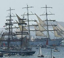 THE TALL SHIPS by The-Stranger