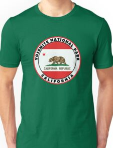 YOSEMITE NATIONAL PARK CALIFORNIA BEAR MOUNTAIN HIKING CAMPING CLIMBING 2 Unisex T-Shirt