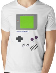 Oldschool Gameboy Shirt Mens V-Neck T-Shirt