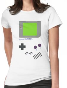 Oldschool Gameboy Shirt Womens Fitted T-Shirt
