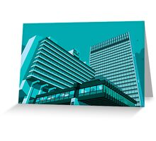 Piccadilly Plaza, Manchester Greeting Card