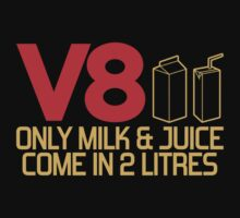 V8 - Only milk & juice come in 2 litres (3) by PlanDesigner