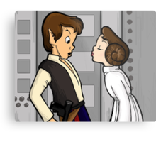 To Give A Scoundrel A Kiss Metal Print
