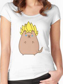 Super Sayian Pupsheen Women's Fitted Scoop T-Shirt