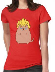 Super Sayian Pupsheen Womens Fitted T-Shirt