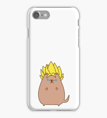 Super Sayian Pupsheen iPhone Case/Skin