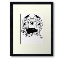 Heart of the Nostromo Framed Print