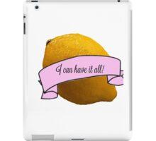 Liz Lemon iPad Case/Skin