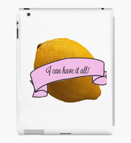 Liz Lemon iPad Case/Skin