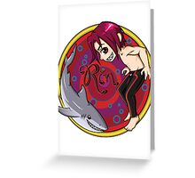 Rin and Friend Greeting Card