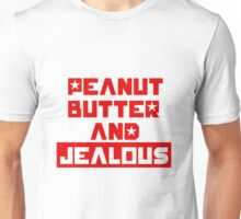 Peanut butter and jealous gifts merchandise redbubble for Peanut butter t shirt dress