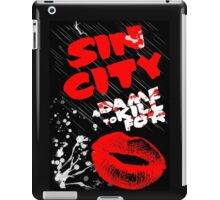 Sin City | A Dame to Kill For design iPad Case/Skin