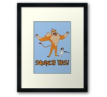 Rick and Morty – Squanch This! Framed Print