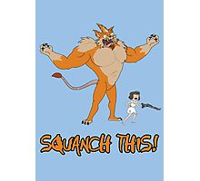 Rick and Morty – Squanch This! Photographic Print