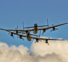 Lancaster Playmates by Colin Smedley