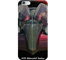 Painted Lady - 1939 Chevrolet Sedan iPhone Case/Skin