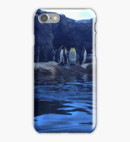 Penguin Plunge iPhone Case/Skin