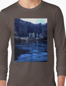 Penguin Plunge Long Sleeve T-Shirt