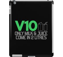 V10 - Only milk & juice come in 2 litres (3) iPad Case/Skin