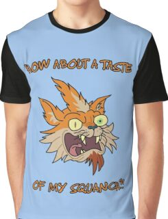 Rick and Morty – How About a Taste of My Squanch?! Graphic T-Shirt