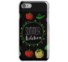 Summerkitchen - Sommerküche iPhone Case/Skin