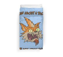 Rick and Morty – How About a Taste of My Squanch?! Duvet Cover