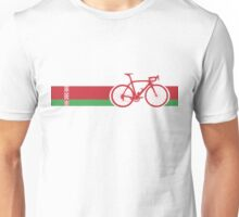 Bike Stripes Belarus Unisex T-Shirt