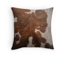 Cruelty Free Cowhide : design 4 Throw Pillow
