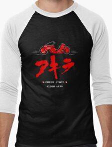 8-Bit Neo Tokyo Men's Baseball ¾ T-Shirt