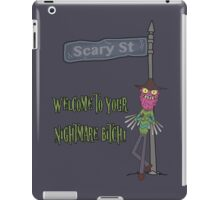 Rick and Morty – Welcome to Your Nightmare, Bitch! iPad Case/Skin