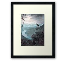 A Chilling Cry   Framed Print