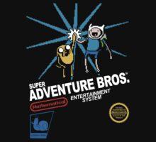 Super Adventure Bros. Kids Tee
