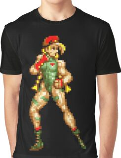 Street fighter 2 Cammy Graphic T-Shirt