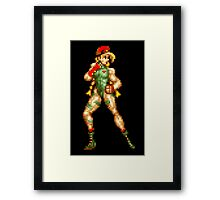 Street fighter 2 Cammy Framed Print