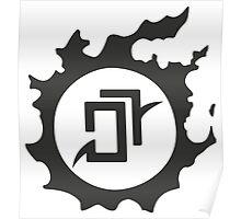 Final Fantasy 14 logo AST Poster