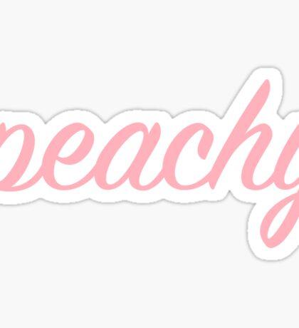 peachy Sticker