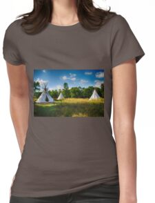 Tipi's Blue Mount State Park Womens Fitted T-Shirt