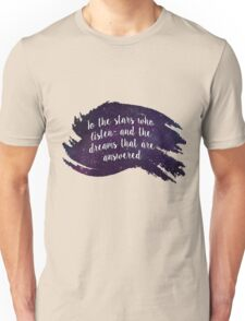 A Court of Mist and Fury - Dreams Quote Unisex T-Shirt