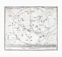 Atlas Coelestis John Flamsteed 1729 30 Astronomy Constellations One Piece - Short Sleeve