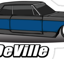 Cadillac Coupe DeVille Sticker