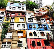 Hundertwasser House by SkatingGirl