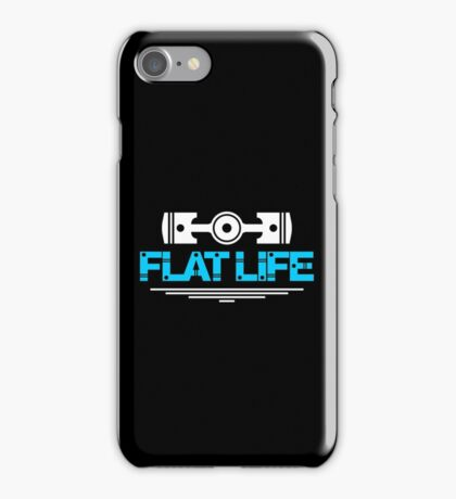 Flat Life (1) iPhone Case/Skin