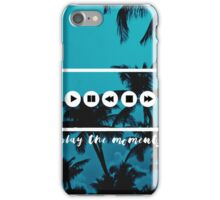 Play The Moments iPhone Case/Skin