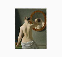 Eckersberg Morgentoilette Woman Standing in Front of a Mirror Unisex T-Shirt