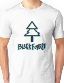 Black Forest - Glitch Unisex T-Shirt