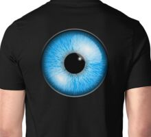 Blue eyes, Eyeball, Pupil, Vision, See, Seeing, sight, eye, eyes, look, looking Unisex T-Shirt