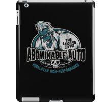 Abominable Auto iPad Case/Skin