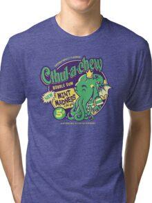 Cthulachew Tri-blend T-Shirt